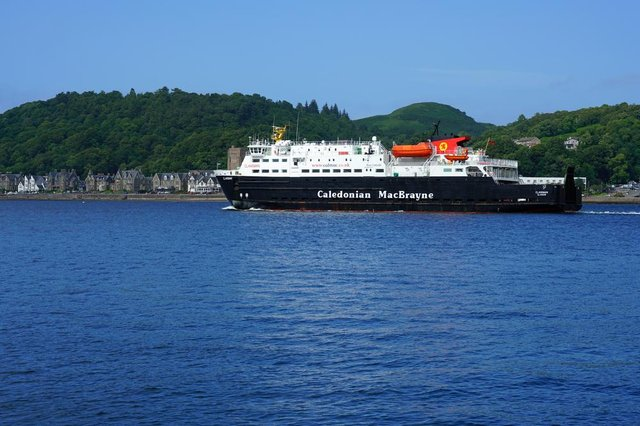 CalMac has seen a huge reduction in passengers over Easter.