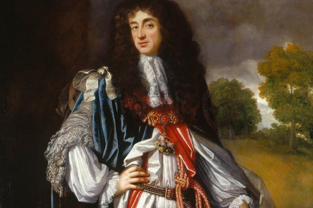 The Crown financed the African slave trade under Charles II
