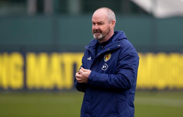 Scotland coach Steve Clarke. Picture: SNS