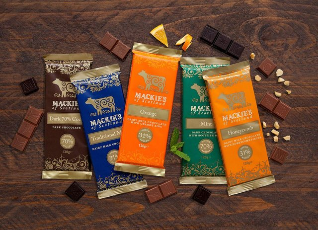Mackie's launched its chocolate range in 2014. Picture: contributed.