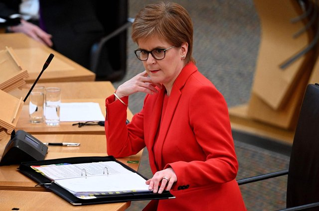 Scotland's First Minister Nicola Sturgeon. Picture: Jeff J Mitchell/AFP via Getty Images