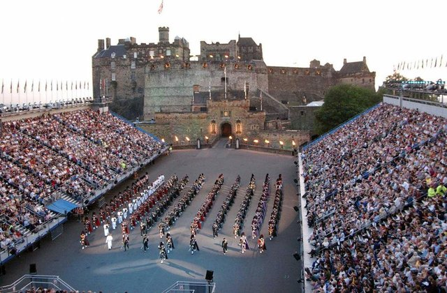All Edinburgh festival events have been cancelled for 2020 including the military tattoo (Getty Images)