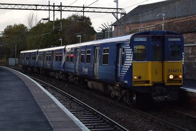 Un train électrique redondant ScotRail classe 314 est en cours de conversion à l'hydrogène.  Image: Thomas Pye