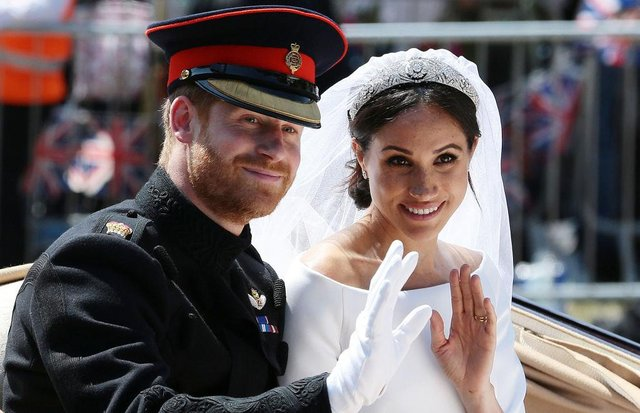 Prince Harry married Meghan on May 19, 2018 at their televised wedding ceremony in Windsor, their marriage certificate has revealed (Picture: Getty Images)