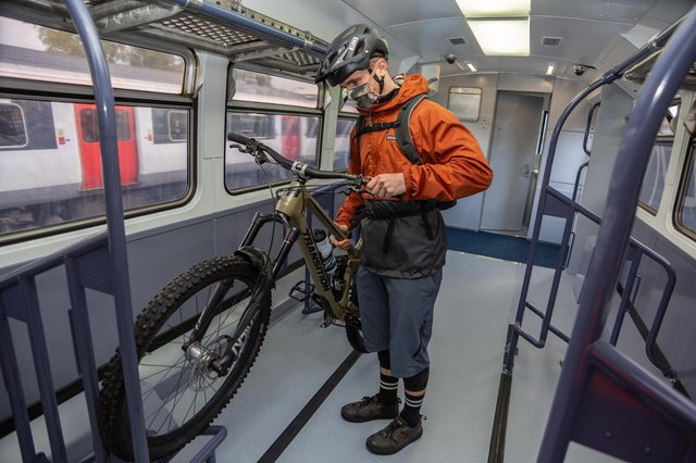 """ScotRail's """"active travel"""" carriages are due to go into service in 2021. Picture: ScotRail"""
