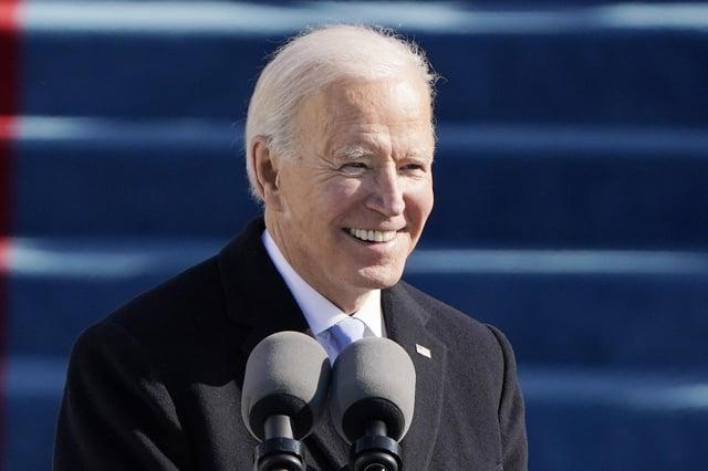 Joe Biden is now the US President, not Donald Trump (Picture: Patrick Semansky/pool/AP)