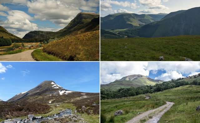 A few of the easier Scottish Munros to bag.
