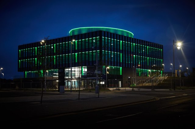 The Halo Kilmarnock is a major brownfield urban regeneration project on a 23-acre site, formerly the home of Johnnie Walker. Picture: Guy Hinks