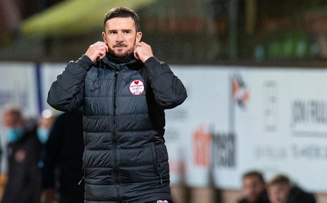 Kelty Hearts manager Barry Ferguson. Picture: SNS