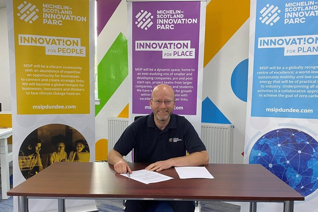 MSIP chief operating officer Colin Mcilraith.
