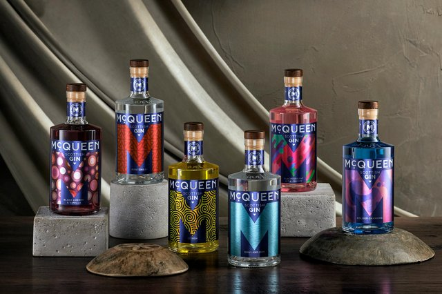 McQueen Gin said it will be the first time its core product range will be available to buy in France. Picture: contributed.