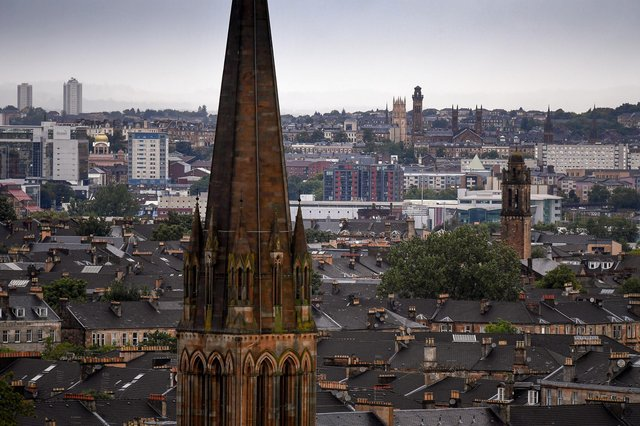 Glasgow came last in the right-wing think tank's index of prosperous areas. Picture: Jeff J Mitchell / Getty