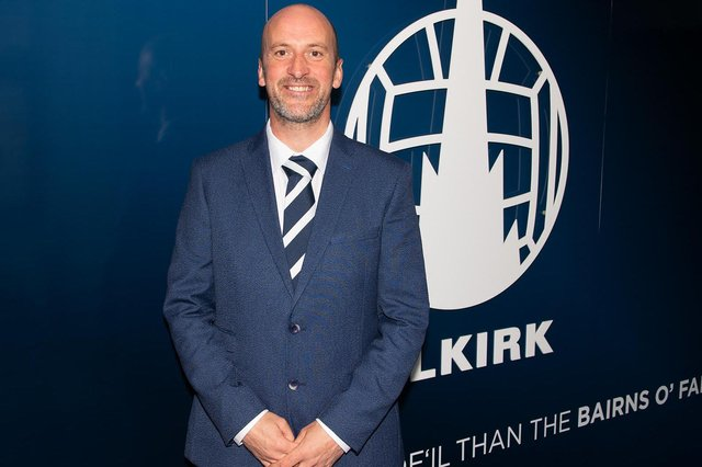 Paul Sheerin has returned to management with Falkirk. (Picture: Ian Sneddon/FFC)