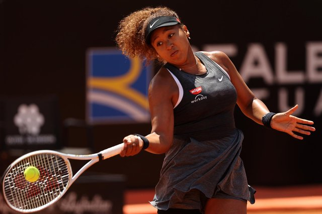 """Naomi Osaka of Japan expects a """"considerable"""" fine for refusing to attend press conferences at the French Open. Picture Clive Brunskill/Getty Images"""