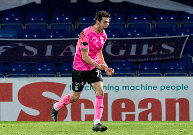 Inverness' Nikolay Todorov was allegedly subjected to racist abuse in a match with Raith Rovers. Picture: SNS
