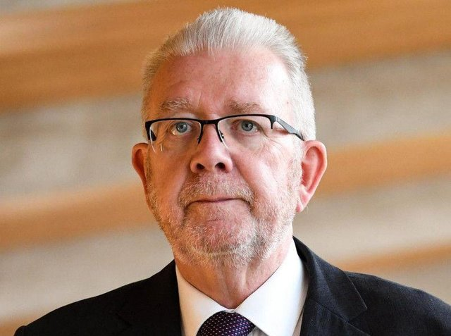 Mike Russell said he was 'very disappointed' that the Scottish Conservatives did not back the motion.