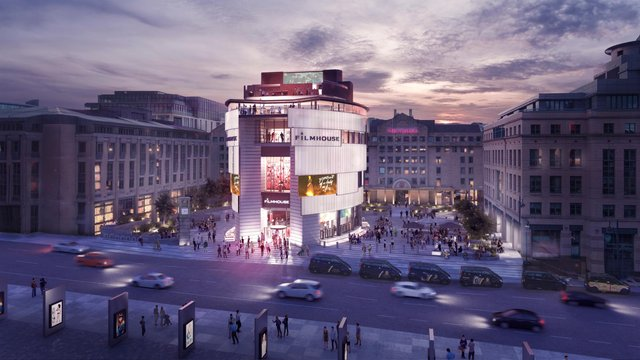 The new Filmhouse will be built in Edinburgh's Festival Square if it gets planning permission (Picture: Richard Murphy Architects)