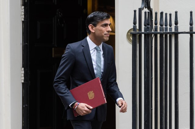 The Chancellor - pictured delivering the Summer Statement in July - has suggested that the furlough scheme will be extended in Wednesday's Budget. Picture: Wiktor Szymanowicz/Barcroft Media via Getty Images.