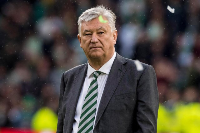 Peter Lawwell is stepping down from his position as CEO of Celtic