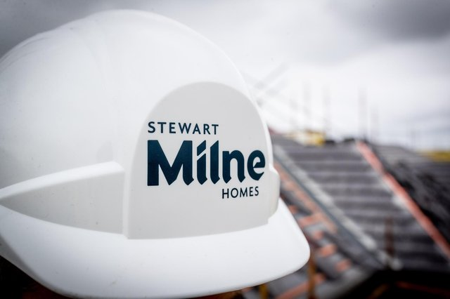 With reservations secured for more than 70 per cent of the new homes planned in 2021 and, following a major strategy review, the housebuilding business of Stewart Milne  is now on track to boost profits this year. Picture: Newsline Media