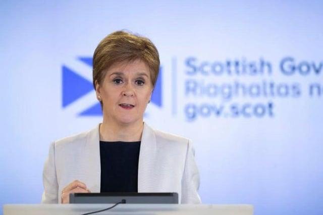 Nicola Sturgeon says checks will begin tomorrow