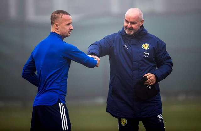 Celtic striker Leigh Griffiths has been left out of Steve Clarke's Scotland squad for next week's World Cup qualifiers (Photo by Craig Williamson / SNS Group)