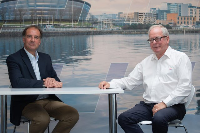 From left: Frog Systems CEO Phil Worms and GAP Group joint MD Douglas Anderson. Picture: contributed.