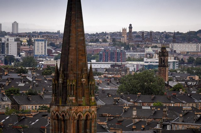 The rate of cases in Glasgow has overtaken Moray