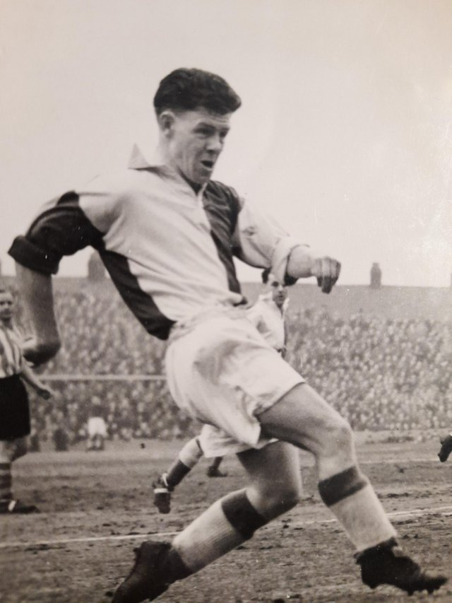 Frank Mooney made 59 appearances in the colours of Blackburn Rovers