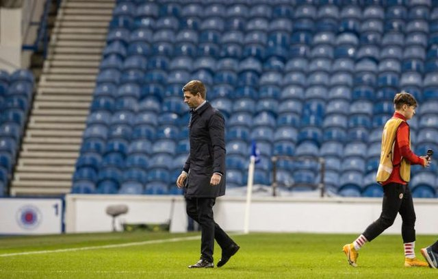 Rangers manager Steven Gerrard has been left with plenty to reflect upon after Thursday's Europa League defeat against Slavia Prague as he prepares for Sunday's trip to Celtic Park. (Photo by Alan Harvey / SNS Group)