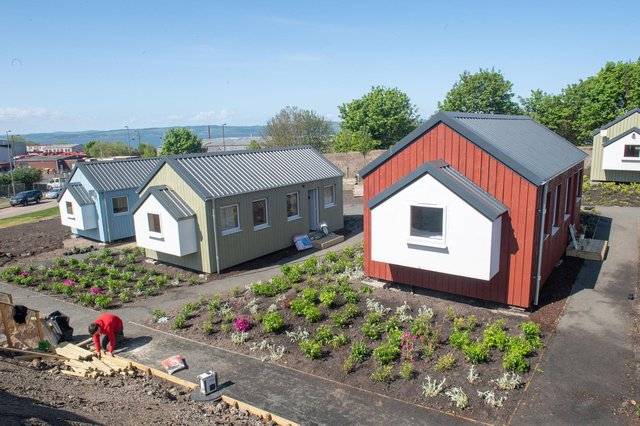 The Social Bite village not only provides shelter, but a variety of other great offerings such as yoga classes, bike rides, cooking clubs and a health and wellbeing programme,