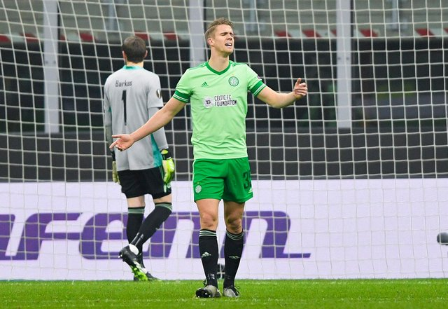 Celtic centre-back Kristoffer Ajer is said to be nearing a move to Brentford. Picture: SNS