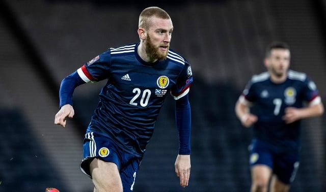 Scotland striker Oli McBurnie will miss the rest of the domestic season. Picture: SNS