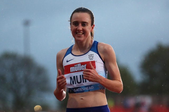 Laura Muir has opted to focus solely on the 1500m at the Tokyo Olympics. Picture: Ian MacNicol/Getty Images