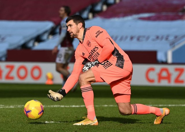 Celtic are interested in Mat Ryan, who spent last season on loan at Arsenal. Picture: Getty