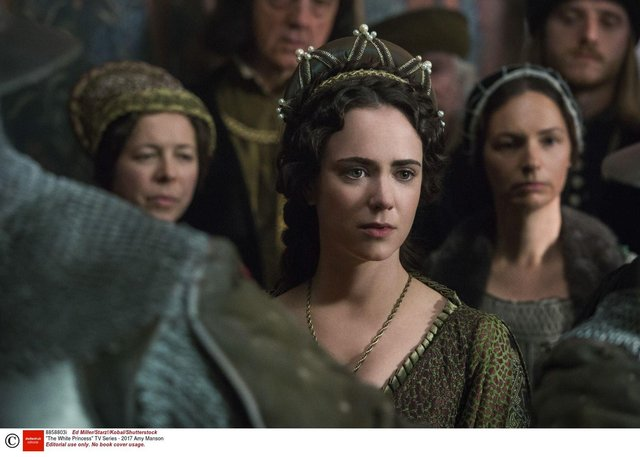 Amy Manson in The White Princess TV Series, 2017.