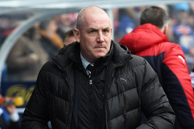 Former Rangers manager Mark Warburton. Pic: SNS