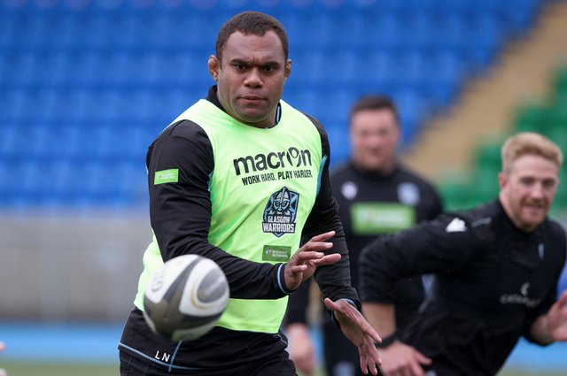 Leone Nakarawa's second spell with Glasgow Warriors was hampered by a knee injury. Picture: Craig Williamson / SNS