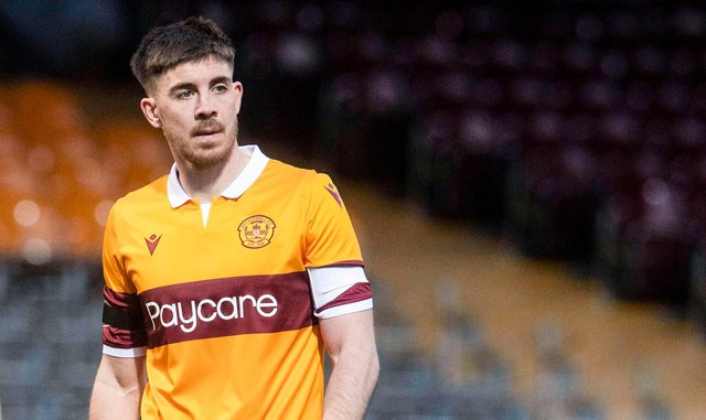 Motherwell defender Declan Gallagher will join Aberdeen when his contract expires. Picture: SNS