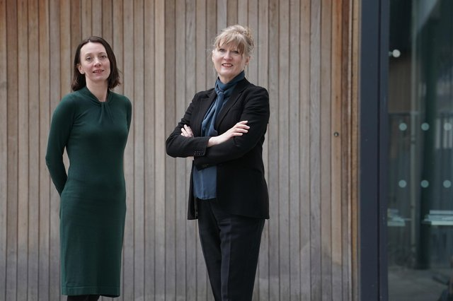 Clare Doris and Clare Wareing of Cumulus Oncology, which is based in Edinburgh. Picture: Stewart Attwood