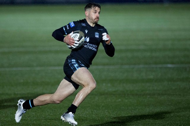 Tommy Seymour scored 48 tries in 150 appearances for Glasgow Warriors. Picture: Craig Williamson/SNS