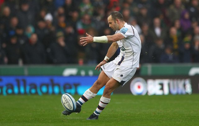 Jono Lance in action for Worcester Warriors.