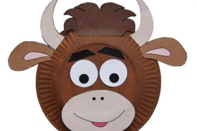 Make an Ox face mask to celebrate the Year of the Ox, using the step by step guide below