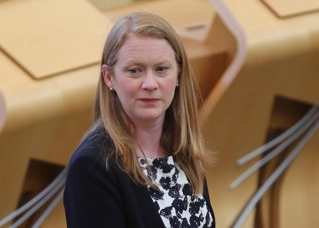 Shirley-Anne Somerville said Scots pupils could appeal to the SQA for better exam grades for free (Picture: Fraser Bremner/Getty)