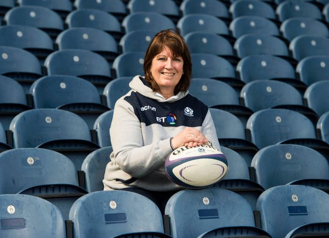 Sheila Begbie is to retire from her role as Scottish Rugby's director of rugby development. Picture: Paul Devlin/SRU