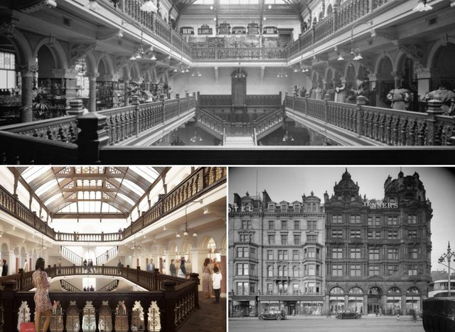 Jenners: Amazing pictures show Jenners throughout the years as owners reveal plan to return building to its 'original glory and quality'