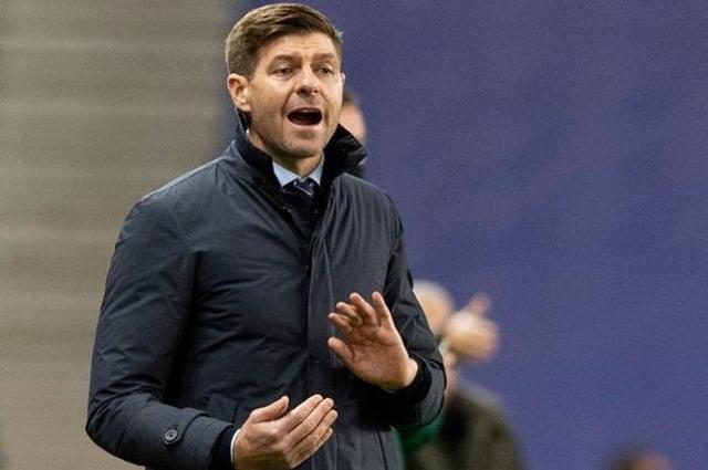 Rangers manager Steven Gerrard  (Photo by Alan Harvey / SNS Group)