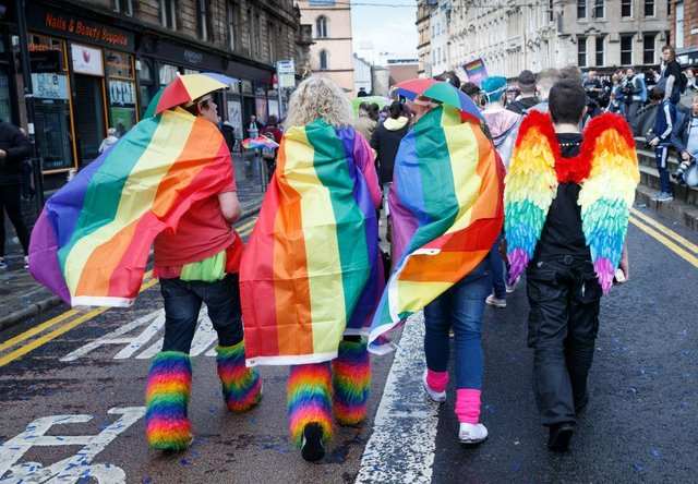 The rainbow flag holds many meanings, and has become a symbol of the LGBTQ+ community (Photo: Robert Perry/Getty Images)