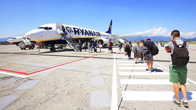 Ryanair flies from Edinburgh, Glasgow, Aberdeen and Prestwick