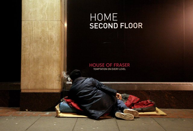 Constructive anger about homelessness can be used to end it for good, says Ewan Aitken (Picture: Oli Scarff/Getty Images)